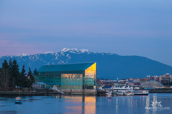 Photo Tours Vancouver twilight in false creek by Aura McKay