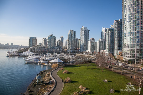 Photo Tours Vancouver english bay and city skyline in the sunshine by Aura McKay
