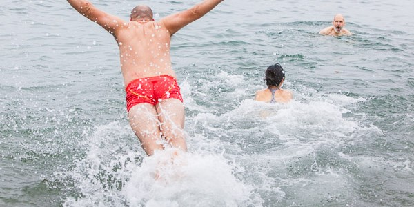 Polar Bear Swim – English Bay 2014